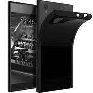 Zwart TPU Siliconen Case Hoesje voor Sony Xperia L1