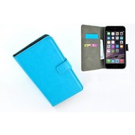 Turquoise Wallet Bookcase P Hoesje voor iPhone 8