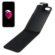 Oni Zwart Flipcase Cover Hoesje voor iPhone 8