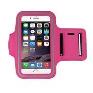 Roze Sportarmband Hardloopband Hoesje voor iPhone 8