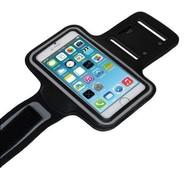 Zwart Sportarmband Hardloopband Hoesje voor iPhone 8