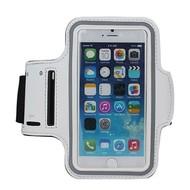 Wit Sportarmband Hardloopband Hoesje voor iPhone 8