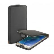 Zwart eco flipcase cover hoesje voor Samsung Galaxy J5 2016