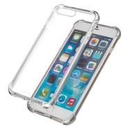 Transparant TPU Siliconen Case Hoesje voor iPhone 8 Plus (verstevigde randen)