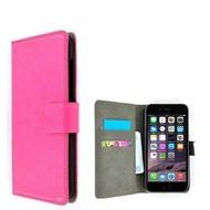 Roze Premium Wallet Bookcase Hoesje voor iPhone 8 Plus