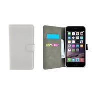 Wit Premium Wallet Bookcase Hoesje voor iPhone 8 Plus