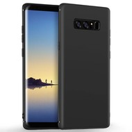 Zwart TPU Siliconen Hoesje voor Samsung Galaxy Note8