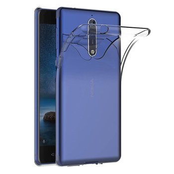 Transparant TPU Siliconen Backcover Hoesje voor Nokia 8