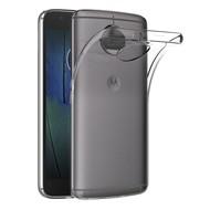 Transparant TPU Siliconen Backcover Hoesje Motorola Moto G5S Plus