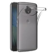 Transparant TPU Siliconen Backcover Hoesje Motorola Moto G5S