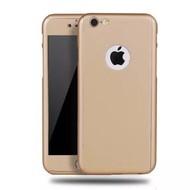 360 graden Full Body Cover Case Goud Hoesje voor iPhone 6/6S