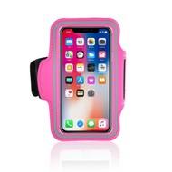 Roze Sportarmband Hardloopband iPhone X