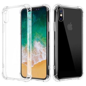 Transparant TPU Siliconen Case Hoesje voor iPhone X met versterkte randen
