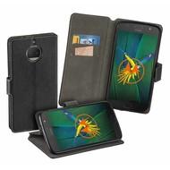 Zwart Y Wallet Bookcase Hoesje Motorola Moto G5S Plus