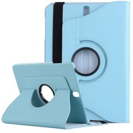 Turquoise 360° Draaibare Case Tablethoes Samsung Galaxy Tab 3 Lite 7.0 (T110)
