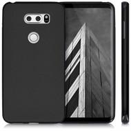 Zwart TPU Siliconen Backcover Hoesje voor LG V30