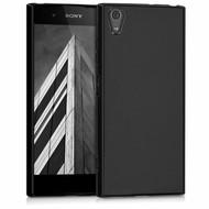 Zwart TPU hoesje Sony Xperia XA1 Plus
