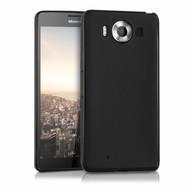 Zwart Tpu Siliconen Case Hoesje voor Microsoft Lumia 950