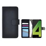 Wallet Bookcase voor Huawei Mate 10 Lite - Zwart Fashion