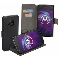 Zwart Y Wallet Bookcase Motorola Moto X4
