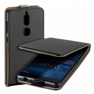 Zwart eco flipcase cover voor Nokia 7