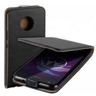 Zwart eco flipcase cover voor Motorola Moto X4