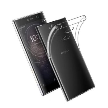 Transparant TPU Siliconen Case Hoesje voor Sony Xperia XA2