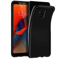 Zwart TPU Hoesje voor Samsung Galaxy A8 Plus 2018