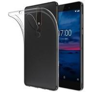 Transparant TPU Hoesje voor Nokia 6 2018