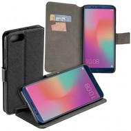 Zwart Y Wallet Bookcase voor Huawei Honor View 10