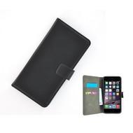 Zwart Wallet Bookcase voor Apple iPhone 5C