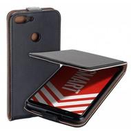 Zwart eco flipcase cover voor Huawei P smart