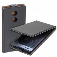 Zwart eco flipcase cover voor Sony Xperia XA2 Ultra