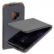 Eco Flipcase Cover Zwart Hoesje voor Samsung Galaxy S9