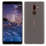 Transparant Ultra Slim TPU Case Hoesje voor Nokia 7 Plus