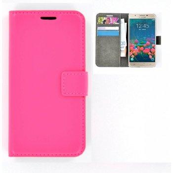 Booktype Case Tpu Portefeuille Pour Samsung Galaxy J7 - Rose LsP0Ek