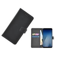 Wallet Bookcase voor Huawei P20 Pro - Zwart effen