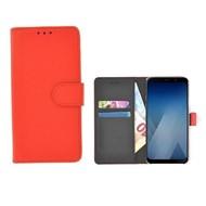Wallet Bookcase voor Huawei P20 Pro - Rood effen
