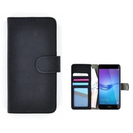Wallet Bookcase voor Huawei P20 Pro - Zwart Fashion