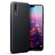 Zwart TPU Hoesje voor Huawei P20