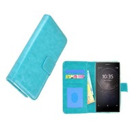 Turquoise Fashion Wallet Bookcase voor Sony Xperia XA2 Ultra