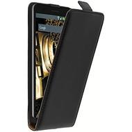 Eco Flipcase Cover Zwart Hoesje voor Nokia 7 Plus