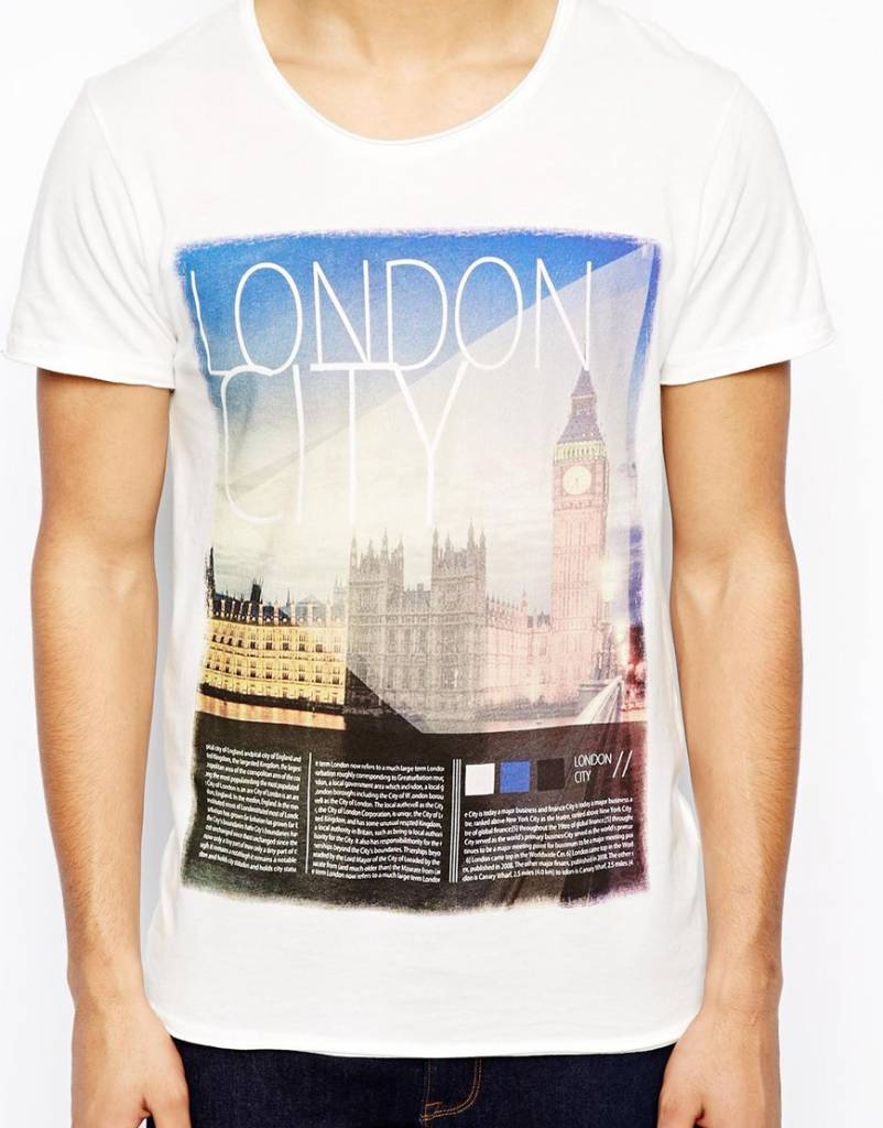 T-shirt with print London