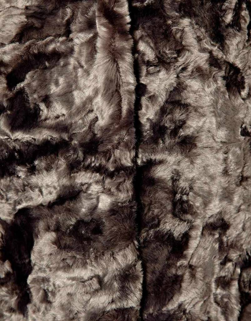 Imitation fur coat
