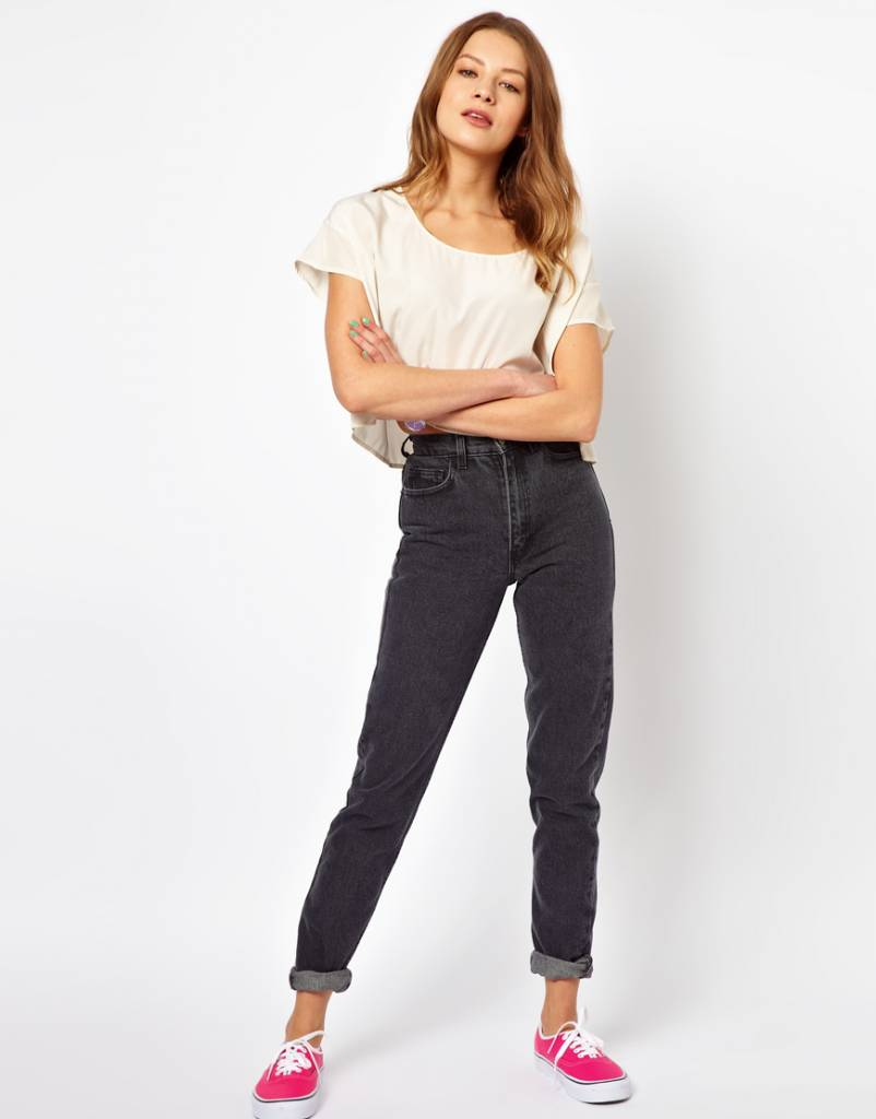 Skinny waist pants