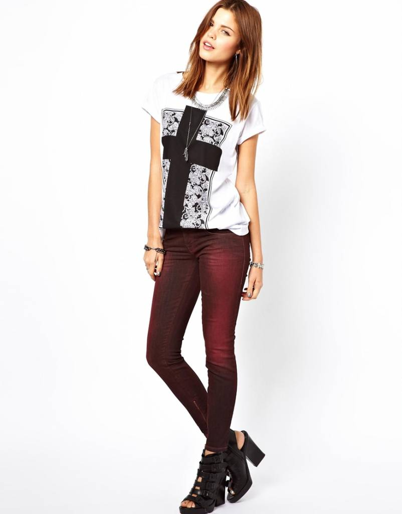 Scotch&Soda Red skinny jeans