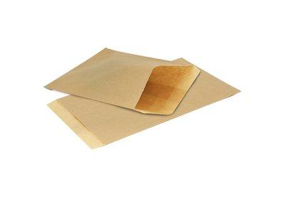 Papieren Kraft zakjes á 1000 stuks bruin