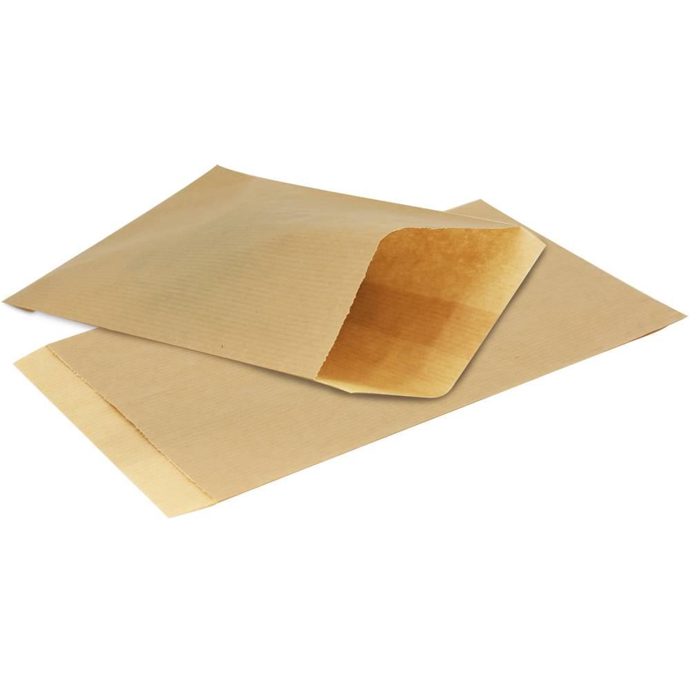 Papieren kraft zakjes 1000 stuks bruin glansbeek for Papieren kraft zakjes