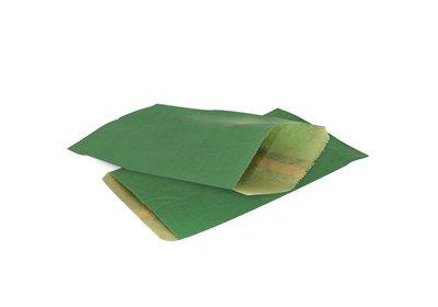 Papieren Kraft zakjes á 1000 stuks donkergroen