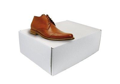 Verzenddoos schoenen Wit